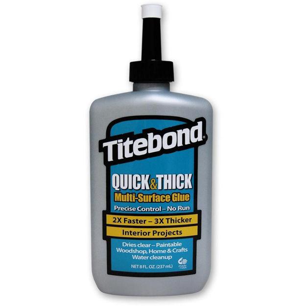Picture of Titebond Quick & Thick Multi Surface Glue - 237ml (8fl.oz)