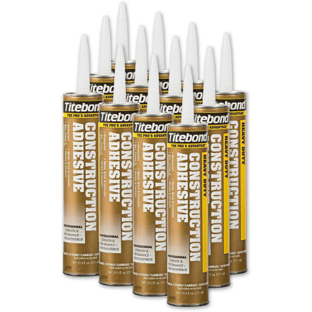 Picture of Titebond Heavy Duty Construction Adhesive - 12 Tubes