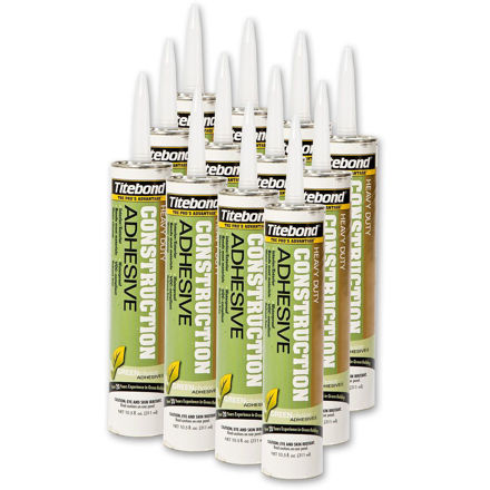 Picture of Titebond Solvent Free Construction Adhesive - 12 Tubes