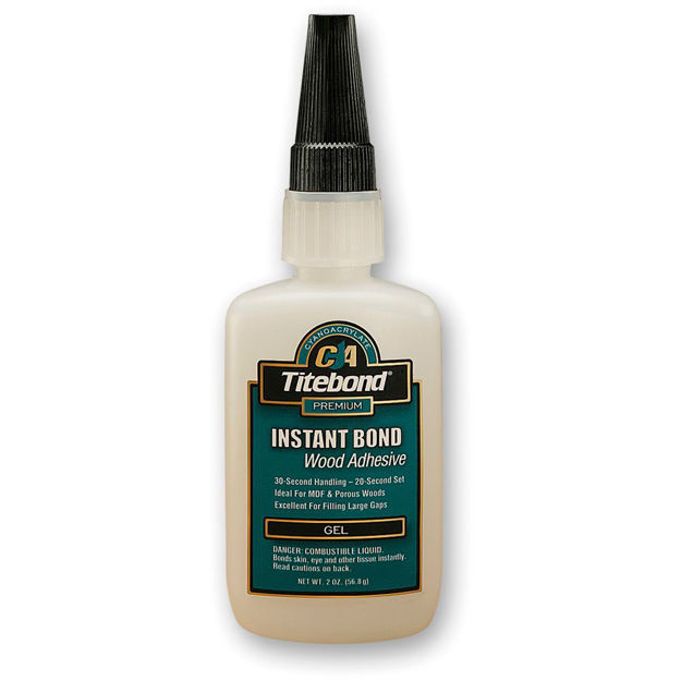 Picture of Titebond Instant CA Glue - Gel  56.8g (2oz)