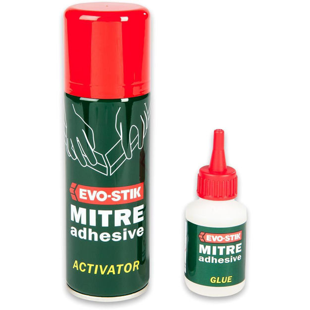 Picture of Evo-Stik Rapid Mitre Fix Adhesive - 2 Part 50g