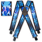 Picture of Blue Flame Braces - 501308
