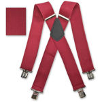 Picture of Burgundy Braces - 507005