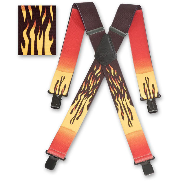Picture of Flame Braces - 476289