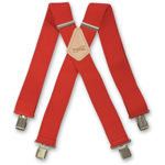 Picture of Red Braces - 341034