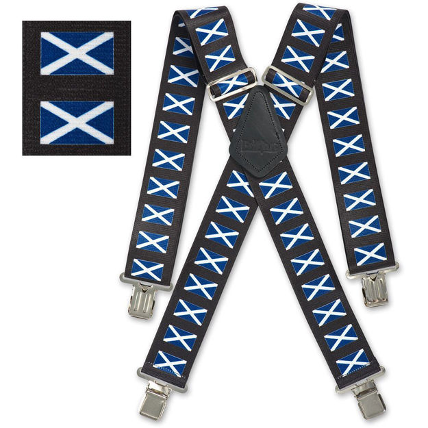 Picture of Scottish Flag Braces - 950432