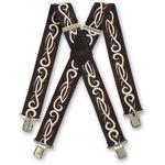 Picture of Tribal Grey Silver Braces - 212520
