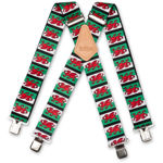 Picture of Welsh Flag Braces - 950790