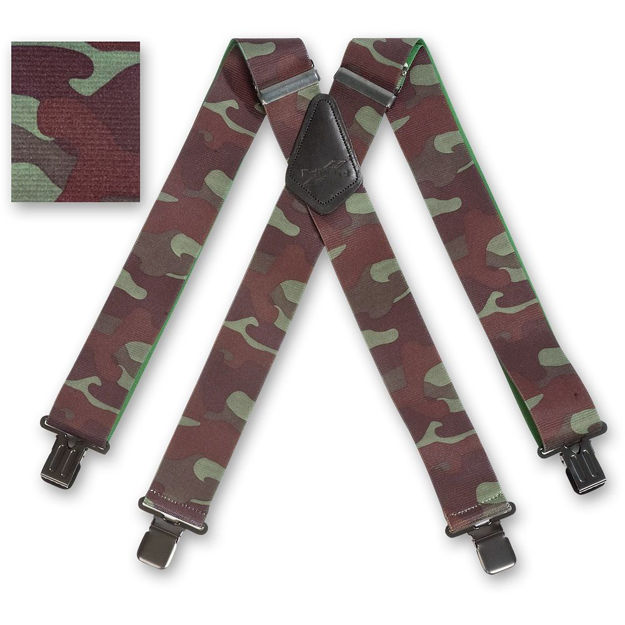 Picture of Woodland Camouflage Braces - 476302