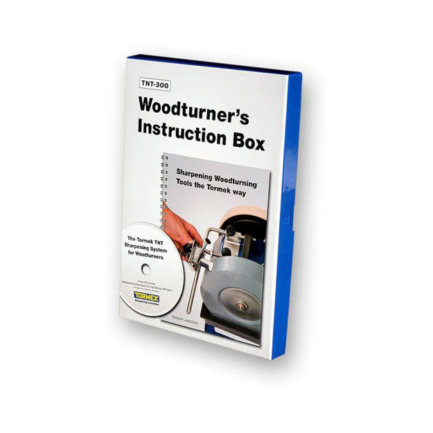 Picture of Tormek TNT-300 Woodturners Instruction Box - 701804