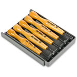 Picture of Japanese Power Grip 5pc Woodcarving Set