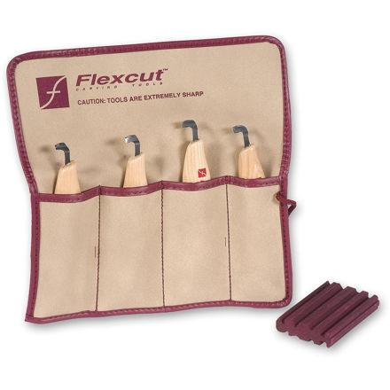 Picture of Flexcut KN150 4pc Right Handed Scorp Set - 600079