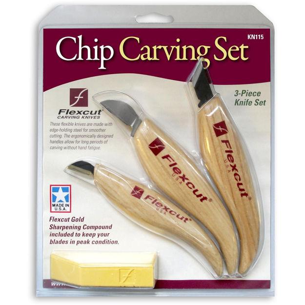 Picture of Flexcut KN115 3pc Chip Carving Set - 952592
