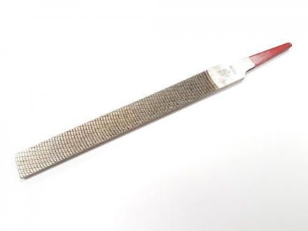 Picture of Iwasaki Japanese Chemically Polished Flat Carvers File Extra Smooth Cut 150mm x 16mm - CP-15E