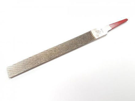 Picture of Iwasaki Japanese Chemically Polished Flat Carvers File Smooth Cut 150mm x 16mm - CP-15S