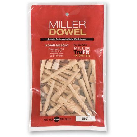 Picture of Miller Standard Dowels 1X Oak 40pk - 300435