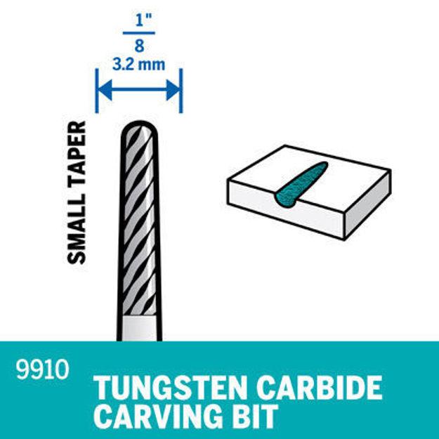 Picture of DREMEL 9910 Tungsten Carbide Spear Tip 3.2mm