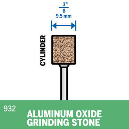 Picture of DREMEL 932 Aluminum Oxide Grinding Stone 9.5mm