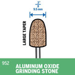 Picture of DREMEL 952 Aluminum Oxide Grinding Stone 9.5mm