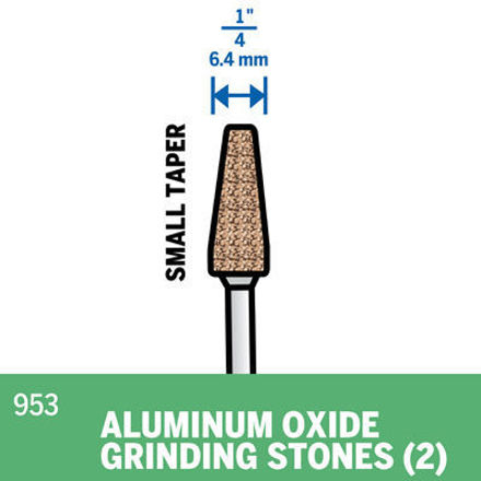 Picture of DREMEL 953 Aluminum Oxide Grinding Stone 9.5mm