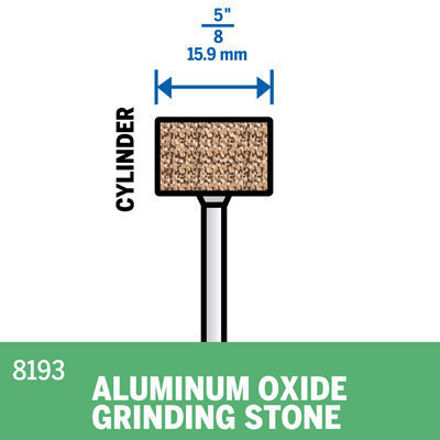 Picture of DREMEL 8193 Aluminum Oxide Grinding Stone 15.9mm