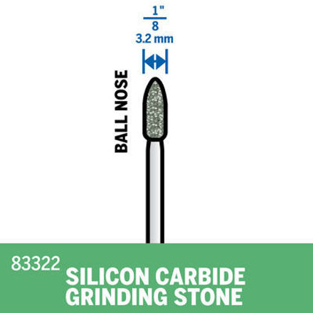 Picture of DREMEL 83322 Silicon Carbide Stone 3.2mm