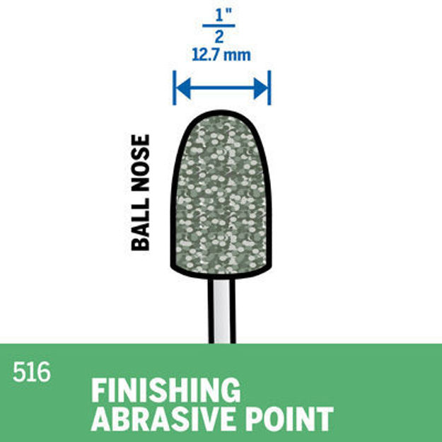 Picture of DREMEL 516 Abrasive Point 12.7mm