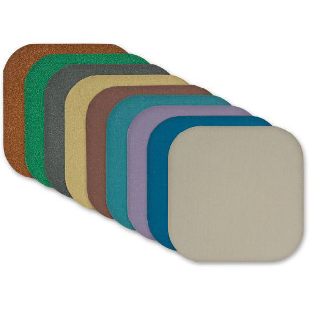 Picture of Micro Mesh Soft Touch Abrasive Pads 50 x 50mm - Mixed