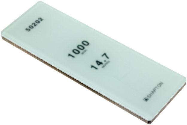 Picture of Shapton Glass Stone HR Grain 1000 Medium 14.7 micron sharpening stone - 50202