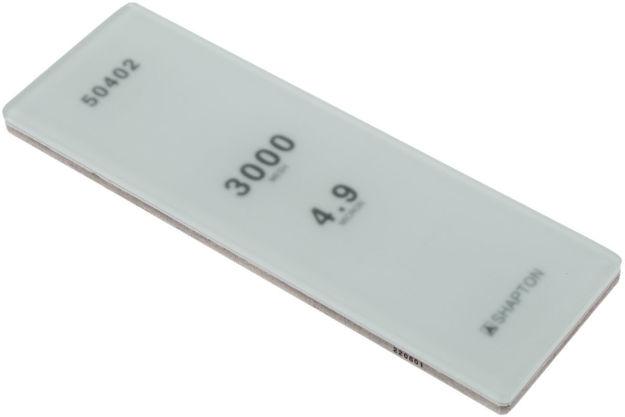 Picture of Shapton Glass Stone HR Grain 3000 Medium 4.9 micron sharpening stone - 50402