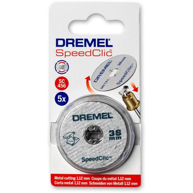 Picture of DREMEL SC456 Metal Cutting Wheel - Pk 5