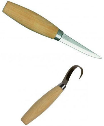 Picture of Mora 106 & 164 Twin Pack Woodcarving