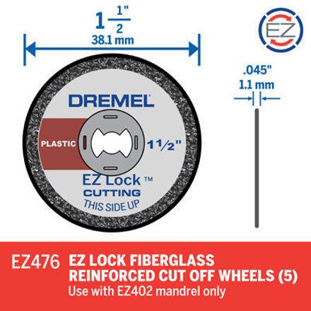Picture of DREMEL SC476 Plastic Cutting Wheels - Pk 5