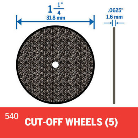 Picture of DREMEL 540 32mm Cut Off Wheel - Pk5