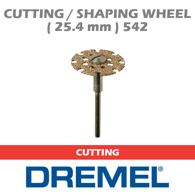 Picture of DREMEL 542 Cutting / Shaping Wheel 25.4mm