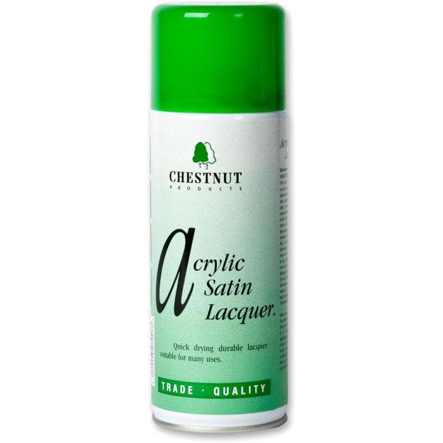 Picture of Chestnut Acrylic Lacquer Aerosol Spray - Satin 400ml
