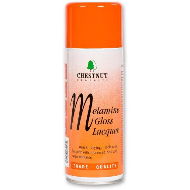 Picture of Chestnut Melamine Gloss Lacquer - Aerosol 400ml