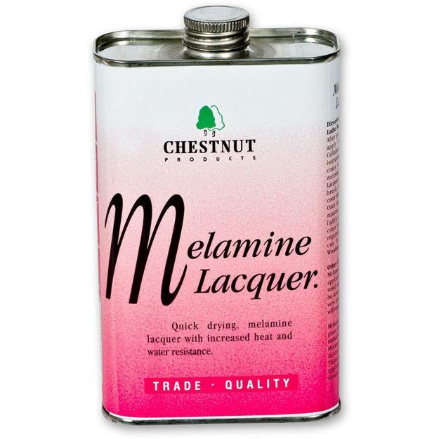 Picture of Chestnut Melamine Lacquer - 1 Litre