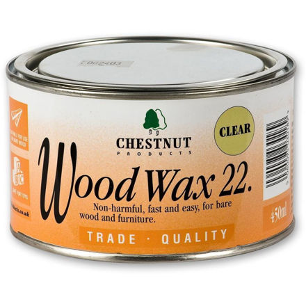Picture of Chestnut Woodwax 22 - Clear 450ml