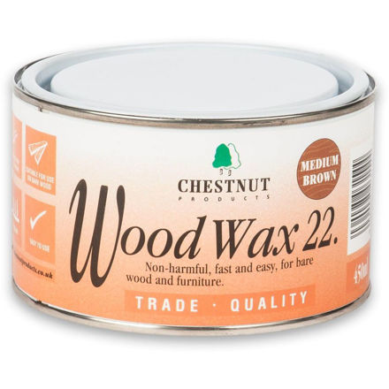 Picture of Chestnut Woodwax 22 - Medium Brown 450ml