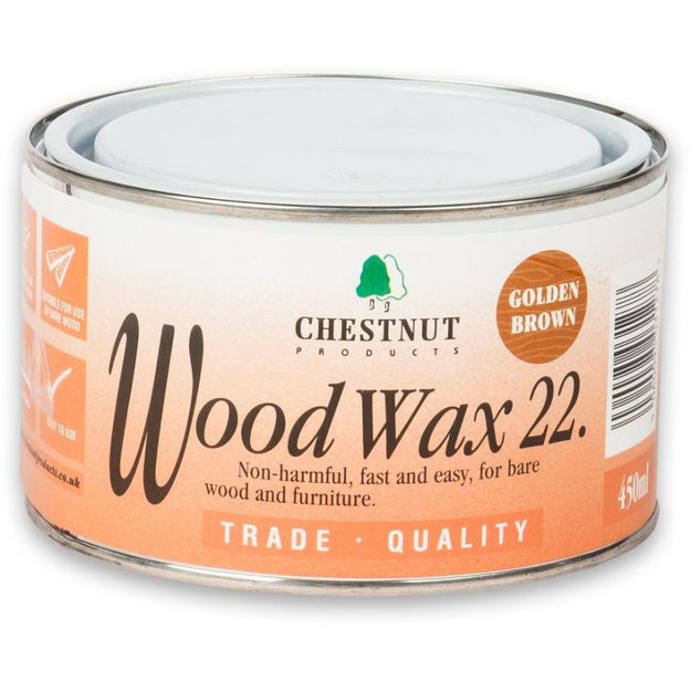 Picture of Chestnut Woodwax 22 - Golden Brown 450ml