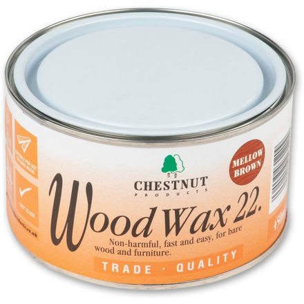 Picture of Chestnut Woodwax 22 - Mellow Brown 450ml