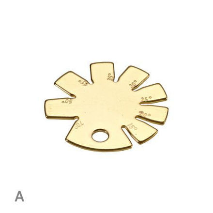 Picture of Solid Brass Bevel Angle Gauge - Tyzack