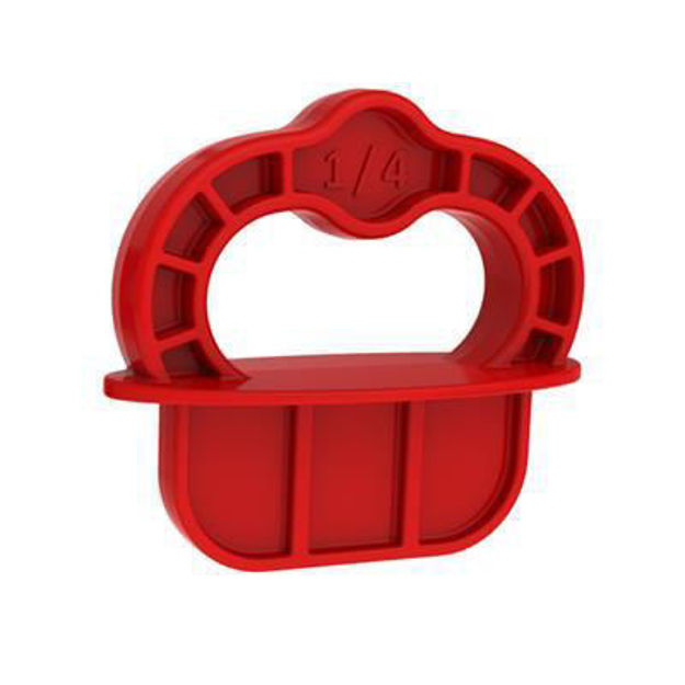 Picture of Kreg Deck Jig Spare Spacer Rings Red 12pk - DECKSPACER-RED