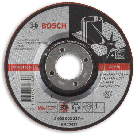 Picture of Bosch Semi Flexible Thin Grindig Discs 115mm - 2608602217