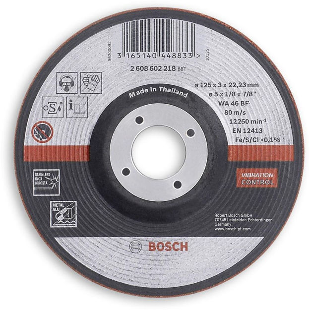 Picture of Bosch Semi Flexible Thin Grindig Discs 125mm - 2608602218
