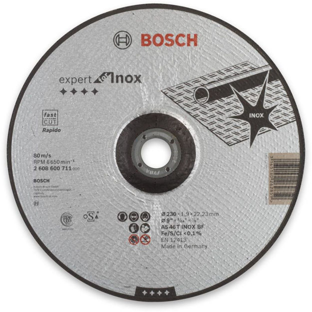 Picture of Bosch Ultra Thin Metal Cutting Disc 125mm - 2608600711