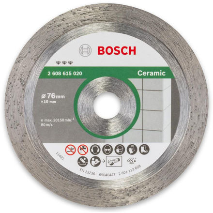 Picture of Bosch 76mm Diamond Cutting Disc for GWS 10.8 - 2608615020